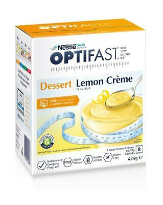 Optifast Dessert Lemon Creme 53g X 8