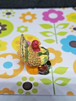 Small Turkey Figurine - 1 1/4 x 1/4 Inch - Moving Sale!