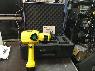Scott EagleX Black And White IR Thermal Camera W/ Case And Accessories TESTED