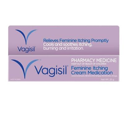 New 25g Vagisil Cream Vaginal Itch External Feminine Itching Cream Medication