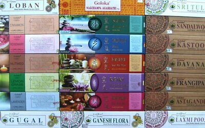 Goloka Incense Sticks - Many Scents Available (Offer 3 for 2)
