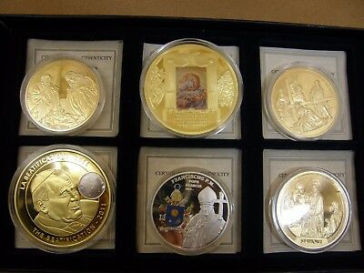 American Mint Religious Commemorative Six Coin Collection Lot #201 – New w/ COAs