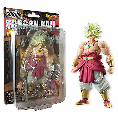 Bandai Dragon Ball Z Shodo 5 Super Saiyan Broly Action Figure NEW In Stock