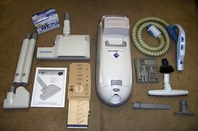 ELECTROLUX C134B 75th ANNIVERSARY GUARDIAN HEPA DELUXE CANISTER VACUUM CLEANER