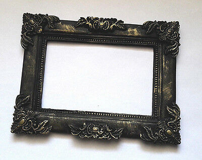 Full Sale! Gothic Photo Frame Black Classic Style size 13x10сm 5.8x3.9in