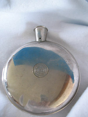 Vintage CELLO Sanitary Metal HOT WATER BOTTLE by A.S. Campbell Co., Boston