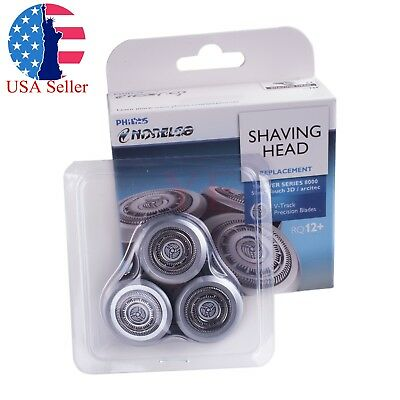 New Shaver Razor Head For Philips Norelco RQ12+ 1250X 9000 SensoTouch 3D RQ10