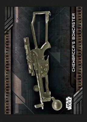 Chewbacca'S Bowcaster-Galactic Files Weapons-Topps Star Wars Card Trader