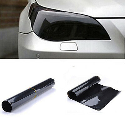 "12"" x 48"" Car Smoke Fog Light Headlight Taillight Tint Vinyl Film Sheet Sticker"