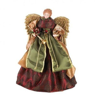 Porcelain Christmas Angel Doll and  Tree Topper