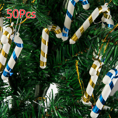 50X Christmas Candy Canes Peppermint Boxed Great Stocking Filler Tree Decoration