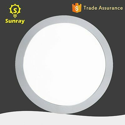 Cool White 18W Round LED Recessed Ceiling Panel Down Lights Bulb Lamp Fixture MY