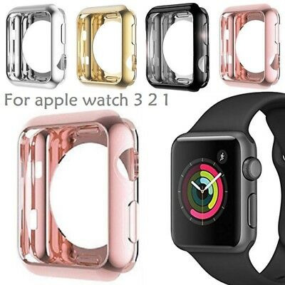 For Apple Watch Series 1/2/3 38/42MM Full Body Cover Snap On Case Protector