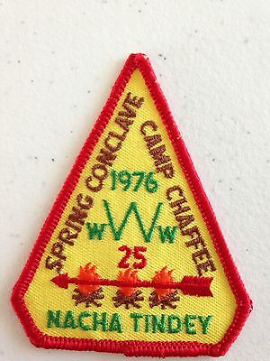 OA (BSA) Nacha Tindey Lodge #25 - 1976 Spring Conclave Patch