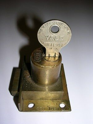 O.D. Jennings Yale Lock with Matching Numbered Key - ODJ1951