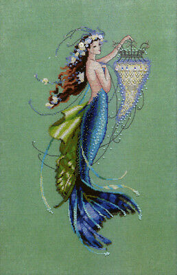 Siren and the Shipwreck by Mirabilia MD-125 cross stitch pattern