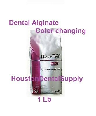 ALGINATE Dental Impression Material 1 LB FAST SET Color Changing CROMATICA