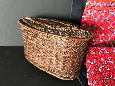 Old West Timor Hand Woven Money Box …beautiful collection piece