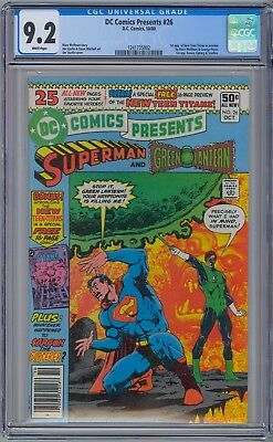 Dc Comics Presents #26  Cgc 9.2 Wp Nm- 1St New Teen Titans Cyborg Raven Starfire