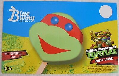 Blue Bunny - Teenage Mutant Ninja Turtles - Ice Cream Truck Sticker 5 x 8