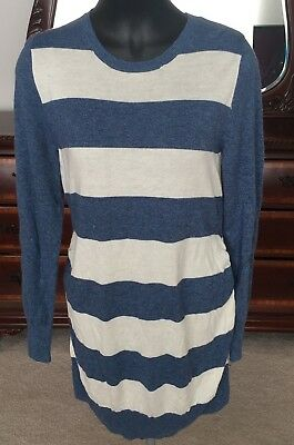 Liz lange maternity  women's long sleeve pull over sweater XL