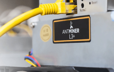 Scrypt mining Antminer L3+ SCRYPT Mining Contract 4 hours  504MH/s