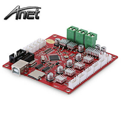 3D Printer Accessories Motherboard Control Board for Anet A8 Prusa i3 Kit USA