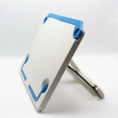Plastic Book holder Folding Tablet Tablature Book Stand Reading Holder White RE1