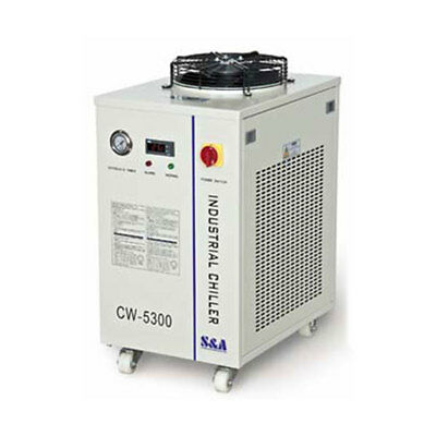 110V S&A CW-5300AN Industrial Water Chiller for 18KW CNC Spindle/Welding Machine