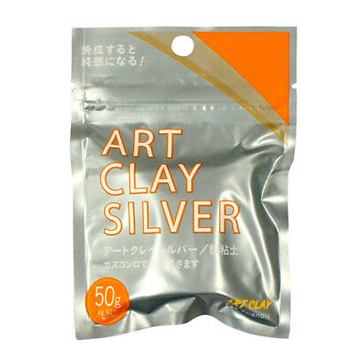 Art Clay Silver 50g  for Craftwork of Silver Accessoris from JAPAN