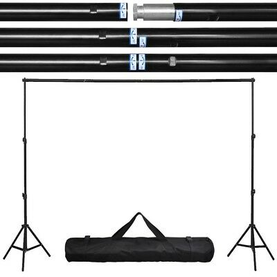 8.2 x 10 Ft. Photo Studio Backdrop Stand Crossbar Kit Background Support