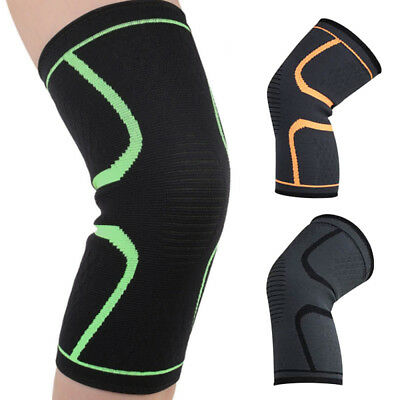 1X Compression Knee Support : Elastic Sleeve for Sports Running Joint Pain