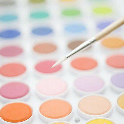 New 36 Colors Set Solid Watercolor Cake Outdoor Paint Pigment Set Painting Tool