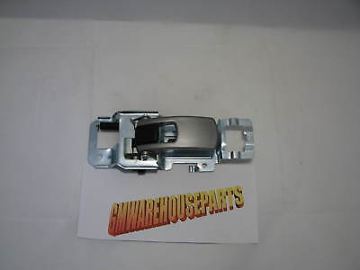 2005-2007 Equinox Drivers Side Inside Door Handle Chrome/satin New Gm # 15926295
