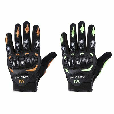 WOSAWE Outdoor Cycling Gloves Windproof Bicycle Motorcycle Full Finger Gloves BU