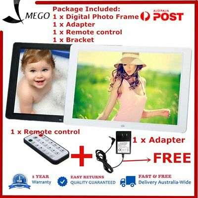New 15 inch HD  LED Digital Photo Picture Frame MP3 MP4 Movie+Remote Control OZB