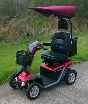 BRAND NEW! Seat Bag / Deluxe Sun Canopy Combo - Mobility Scooters Accessories