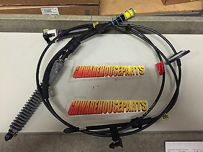 SUBURBAN ESCALADE 2WD LOWER TRANSMISSION SHIFT CABLE 2007-2013 NEW OEM  20787611