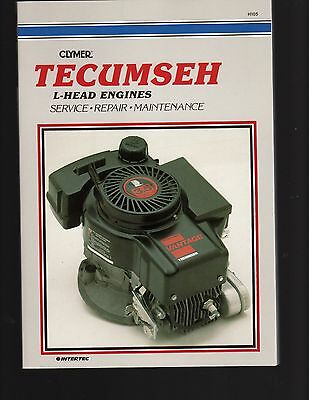 Tecumseh L-Head Engines Clymer Service, Repair & Maintenance Manual - see descri