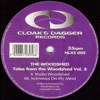 """12"""": The Woodshed - Tales From The Woodshed Vol. 3 - Cloak And Dagger Records -"""