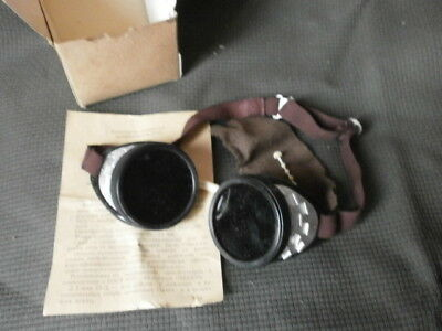 Vintage welding glasses steampunk style goggles cyber goggles cosplay glasses
