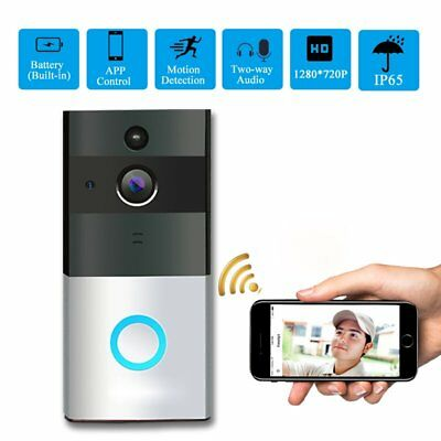 Intercome WIFI Wireless Visual Doorbell Ring Night View Video Camera Doorbell OZ