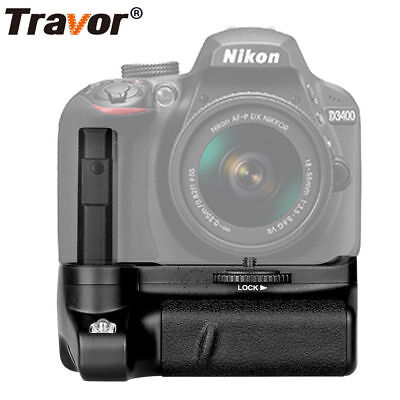 Battery Grip Pack For Nikon D3400 DSLR Camera Work With EN-EL14 Battery Hotsale