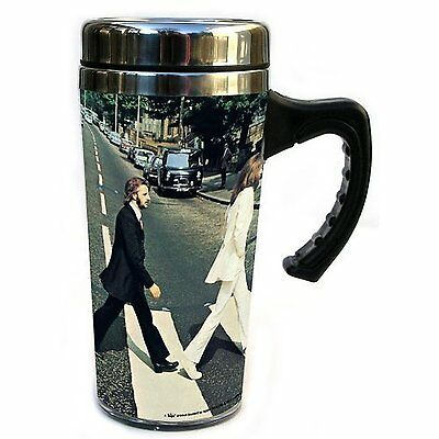 The Beatles Abbey Road Album Cover Stainless Steel Travel Coffee Mug Official