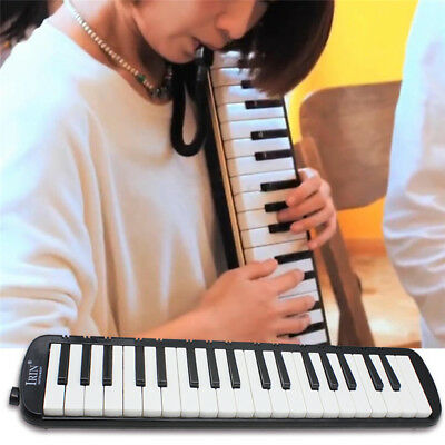 37 Key Melodica Pianica Keyboard Harmonica Music Melodion for Beginner with Bag