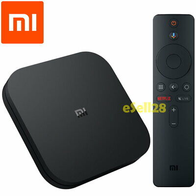 Xiaomi Mi Box S Int 4K Android TV 8.1 8GB Media Streamer Built-in Google Cast