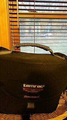 Tamrac Photo/Video padded camera bag gently used lots of pockets excellent