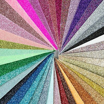 Shimmer Fine Glitter Fabric - 35 colours, safe for childrens projects & bows