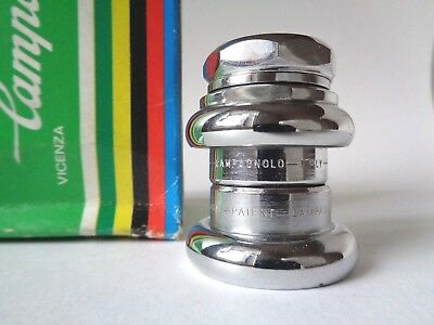 *NOS Vintage 1970s Campagnolo Gran Sport French Thread steel headset*