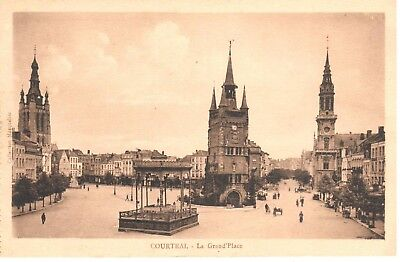 carte postale - Kortrijk - Courtrai - CPA - La Grand'Place
